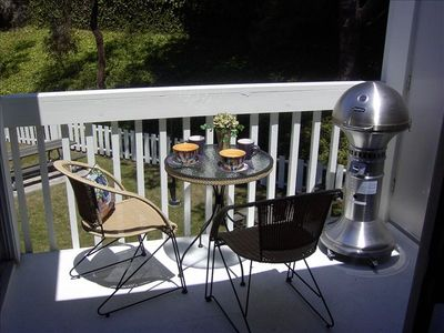 Private Balcony w/ Gas BBQ