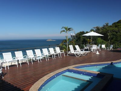 Luxurious Mansion in São Conrado with Pool, Terrace and Ocean View.