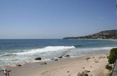 Laguna Beach villa rental - Beach View From Lower Common Area Sundeck