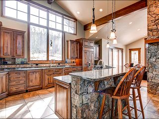 Baldy Mountain Breckenridge house photo - Stainless Steel Appliances and High End Granite in the Kitchen