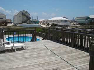Gulf Shores house photo - Large Deck for sun bathing