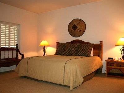 Carefree villa rental - Second Bedroom King Bed or Split Singles