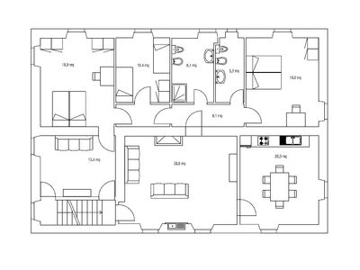 plan - 1st floor