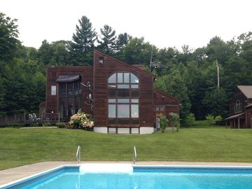 Newfane estate rental - Main House with Pool and Guest House