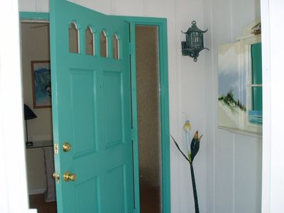 Front Door into Foyer