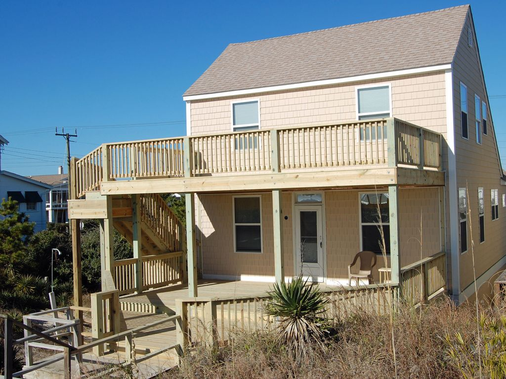 Utter bliss ocean front cottage at the vrbo for Beach front cottage