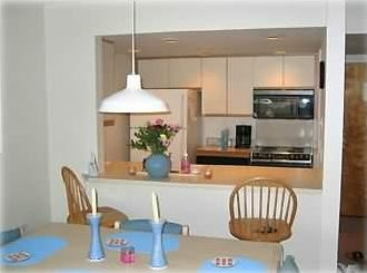 Brigantine condo rental - Kitchen shot