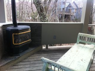 Wintergreen house photo - Rear Porch