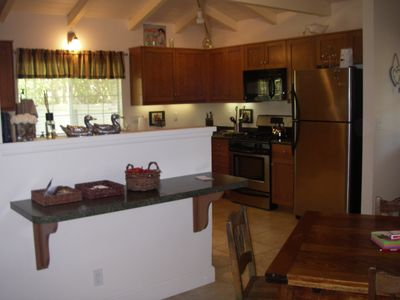 Large Full Country Kitchen with Dining Area