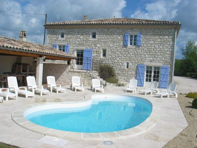 Character house, 8 pers., Private pool, great views, equip. Disabled