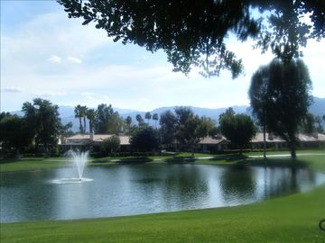 Palm Desert condo rental - View from condo MCC
