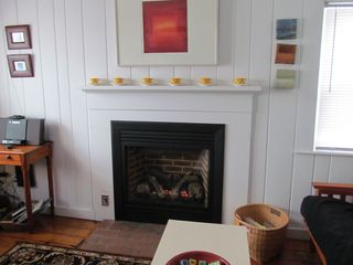 Fireplace - Wellfleet cottage vacation rental photo