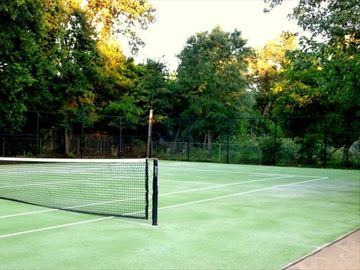 Tennis Court (Clay). Resurfaced and ready for tournaments or just pleasure!