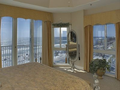 Master Bedroom 1 with Stunning Views All Around