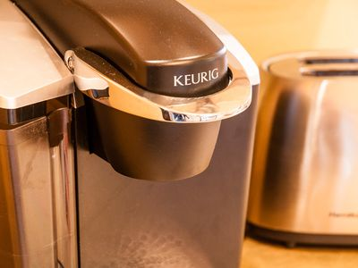 Morning coffee from the Keurig