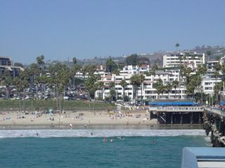 San Clemente condo photo - Land View from San Clemente Pier in San Clemente, California