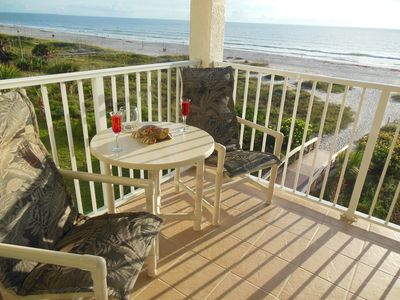 Sandcastles 410 direct Ocean front Corner Unit with the best views and reviews