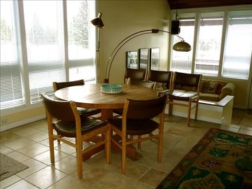 Dining Area w/ seating for 7. 4 More Seats at Breakfast Bar. Views of the Lake