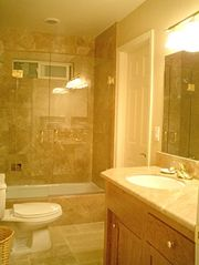 A Lower Bathroom - Santa Cruz house vacation rental photo