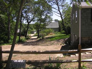Back yard view - Wellfleet cottage vacation rental photo