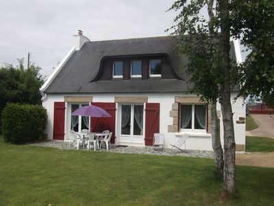 Quiet house for 5 people at 800m from the beach in Locquirec