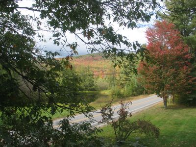 The Sow's Ear, a Franconia Notch Vacations Property - View Shot!  Fall Foliage View Shot!!