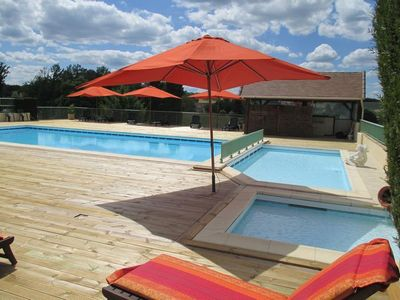 Accommodation with pool 6 pers near Sarlat La Caneda