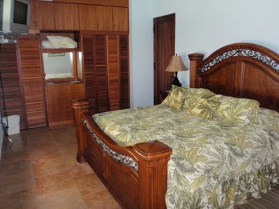 Rincon villa rental - Main Villa Downstairs master