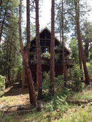 Payson cabin photo - Cabin Front- Facing Tonto National Forest -