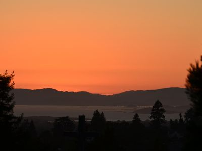 Sunset over San Francisco Bay
