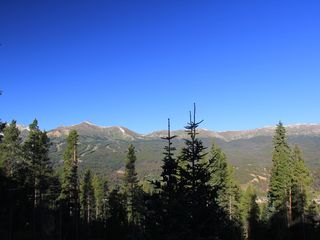 Breckenridge house photo - September 2011 view from the deck.