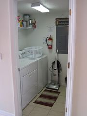 Emerald Island townhome photo - Full size washer and dryer
