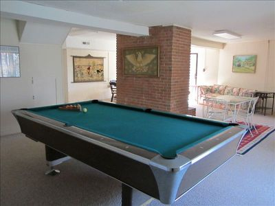 Pool Table in Basement! Game anyone?