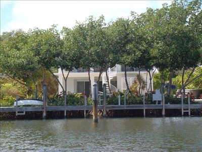 Incredible view of property through mangrove canopy - private and shaded!
