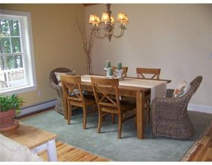 Bridgton house photo - dining table