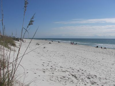 Sea Oats beaches approximately 150 yards wide - room for fun!