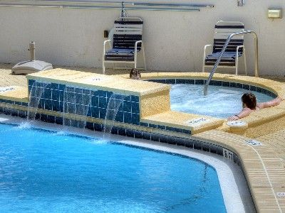 Seasonally Heated Pool at Beachside One and New Hot Tub
