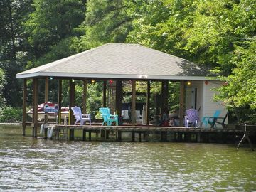 View of Boat House/Boat Dock from Water