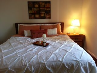 Branson condo photo - King bed in both bedrooms, superior linens! + queen sleeper sofa in living room