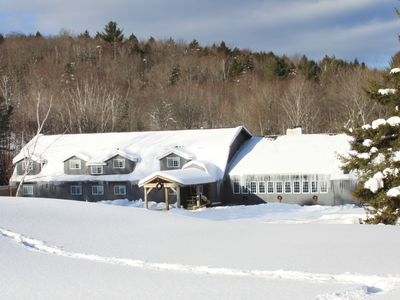 Trailside Inn is perfect for XC-skiing