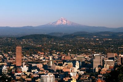 An hour to the east, Mt. Hood presides over our fair city!