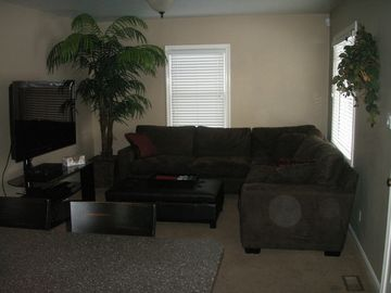 Upstairs Living Room with Sleeper Sofa