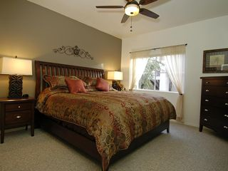 Ahwatukee condo photo - Large bedroom with an extremely comfortable king size bed