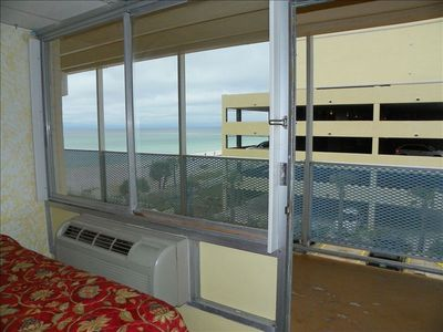 Example: Studio Suite, no balcony but still has Beach views!
