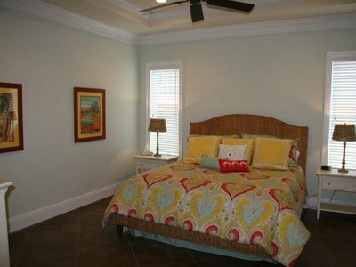Miramar Beach house rental - 1st floor master suite