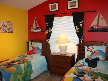 Mickey Bedroom