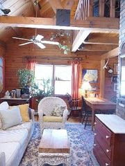 Bright & airy Living Room is open to the Kitchen & 2 porches - Kennebunk house vacation rental photo