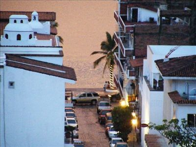 Malecon from condo...zoomed in