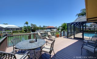 Vacation Homes in Marco Island house photo - Large Sundeck with an Osprey's View!