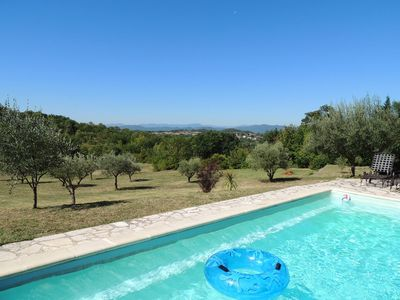 Stone Farmhouse with Pool & Large Garden - Breathtaking 80km Mountain Views
